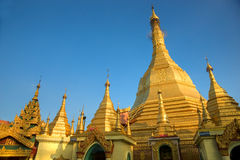 Sule Paya, Yangoon, Myanmar. Stock Images