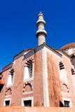 Suleiman清真寺在罗得岛 库存照片