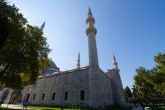 suleiman的清真寺 免版税库存照片