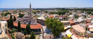 Suleiman,罗得岛,希腊清真寺  免版税库存图片