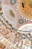 suleiman 06内部的清真寺 库存照片