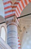 suleiman 07内部的清真寺 免版税库存图片