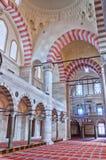 suleiman 09内部的清真寺 免版税库存照片