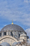 Suleiman Mosque 05. A view of the majestic Suleiman Mosque in Istanbul, Turkey Royalty Free Stock Photography