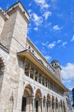 Suleiman Mosque 12. A view of the majestic Suleiman Mosque in Istanbul, Turkey Royalty Free Stock Image
