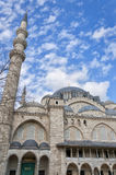 Suleiman Mosque 14. A view of the majestic Suleiman Mosque in Istanbul, Turkey Stock Photography