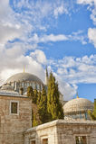 Suleiman Mosque 18. A view of the majestic Suleiman Mosque in Istanbul, Turkey Stock Photo