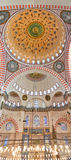 Suleiman Mosque interior 02 Royalty Free Stock Photo