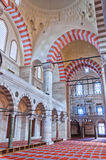 Suleiman Mosque interior 09 Royalty Free Stock Photo