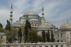 Suleiman mosque in Istambul. Turkey. Royalty Free Stock Photography