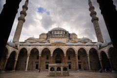 The Suleiman Mosque in Istanbul Royalty Free Stock Images