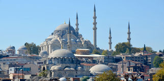 The Suleiman Mosque Stock Photos
