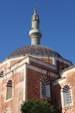 Suleiman mosque in the old town of Rhodes Stock Images