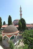 Suleiman Mosque, Rhodes Old Town. Greece Stock Photos