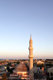 Suleiman Mosque in sunset Royalty Free Stock Photography