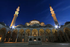 Suleiman's Mosque, Istanbul Royalty Free Stock Photos