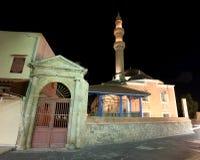 Suleimans mosque minaret Royalty Free Stock Images