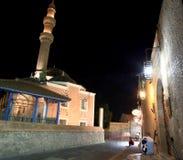 Suleimans mosque minaret Stock Images