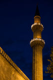 Sulemaniye mosque minaret Royalty Free Stock Photography