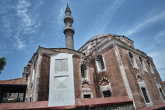 Suleyman`s Magnificent Mosque Stock Photo