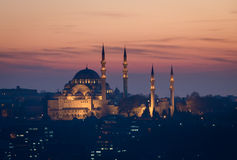 Suleymanie Mosque Istanbul Royalty Free Stock Photography