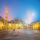Suleymaniye清真寺在伊斯坦布尔,土耳其 免版税图库摄影