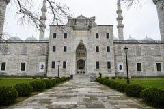 Suleymaniye清真寺在伊斯坦布尔 免版税图库摄影