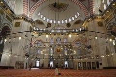 Suleymaniye清真寺,伊斯坦布尔,土耳其 库存图片