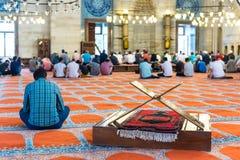 Suleymaniye清真寺,普遍的地标在伊斯坦布尔,土耳其 免版税库存照片