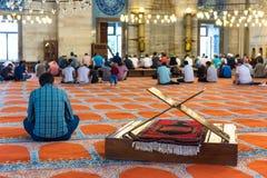 Suleymaniye清真寺,普遍的地标在伊斯坦布尔,土耳其 免版税库存图片