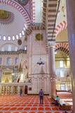 Suleymaniye清真寺, Halic,伊斯坦布尔 图库摄影