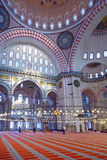 Suleymaniye清真寺, Halic,伊斯坦布尔 免版税图库摄影