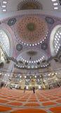 Suleymaniye清真寺, Halic,伊斯坦布尔 免版税库存照片