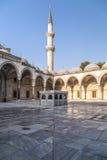 Suleymaniye清真寺, Halic,伊斯坦布尔 免版税库存图片