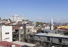 Suleymaniye清真寺 伊斯坦布尔 火鸡 库存图片
