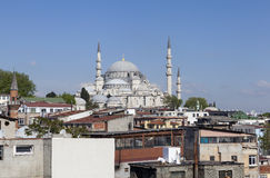 Suleymaniye清真寺 伊斯坦布尔 火鸡 库存照片