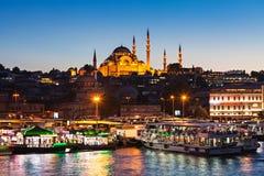 Suleymaniye清真寺 库存照片