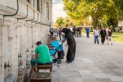 Suleymaniye清真寺 免版税图库摄影