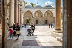 Suleymaniye清真寺 免版税库存图片