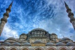 Suleymaniye. Blue sky beautiful Landscape Stock Photos