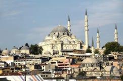 Suleymaniye Camii mosque Royalty Free Stock Photos