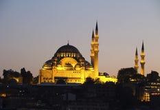 Suleymaniye Camii mosque Stock Image