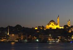 Suleymaniye Camii mosque Royalty Free Stock Photo