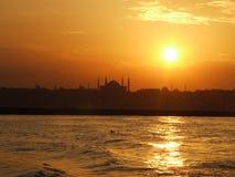 suleymaniye in Istanboel Stock Afbeelding