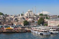 Suleymaniye meczet Zdjęcie Royalty Free