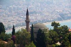 Suleymaniye meczet w Alanya, Turcja Fotografia Stock