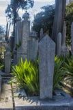 Suleymaniye Meczetowy cmentarz z grobowem legendarny turecki s Obraz Stock