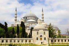 Suleymaniye moské Fotografering för Bildbyråer