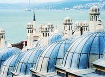 Suleymaniye moské Arkivbild