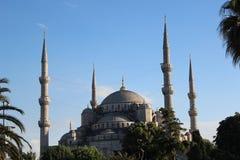 Suleymaniye moské Arkivfoton